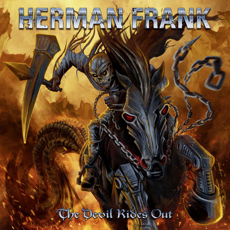 Herman Frank: The Devil rides out (2016) Book Cover