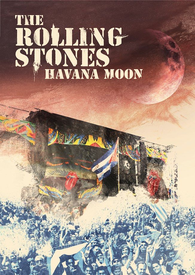 The Rolling Stones: Havana Moon (2016) Book Cover