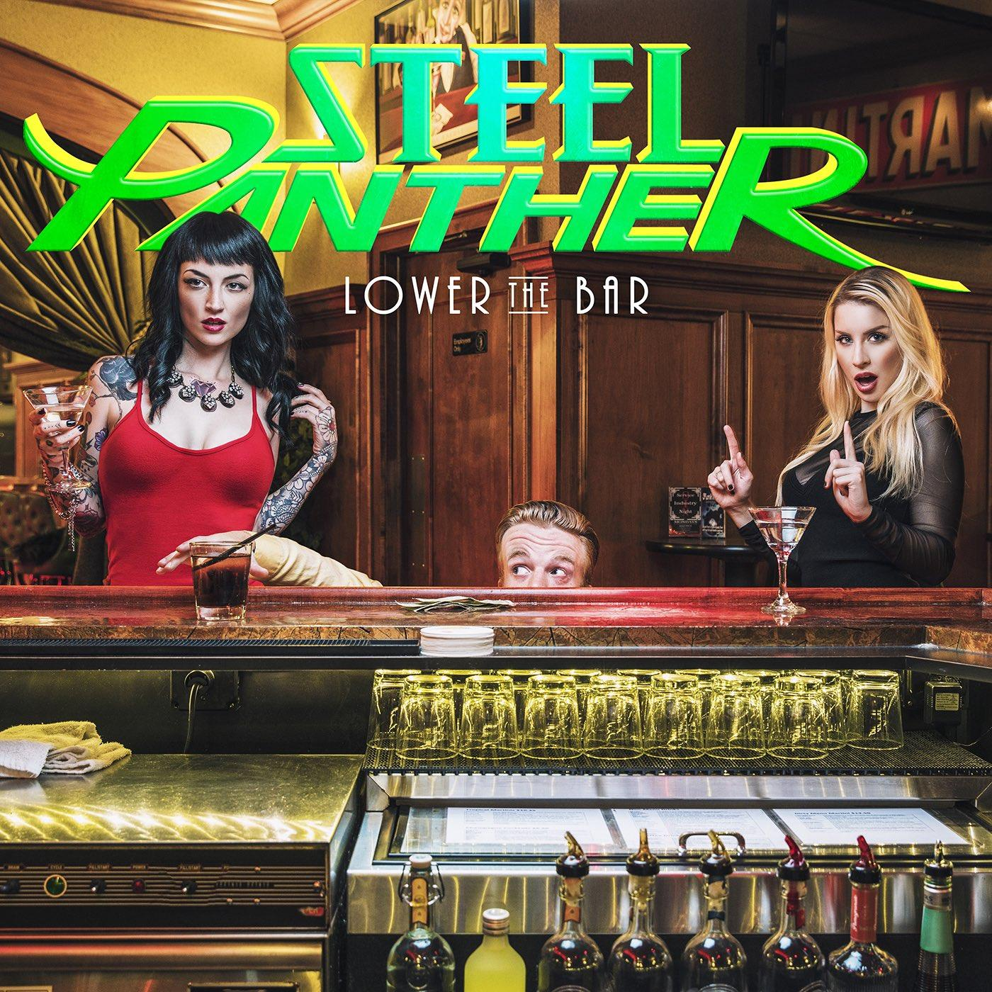 Steel Panther: Lower The Bar (2017) Book Cover