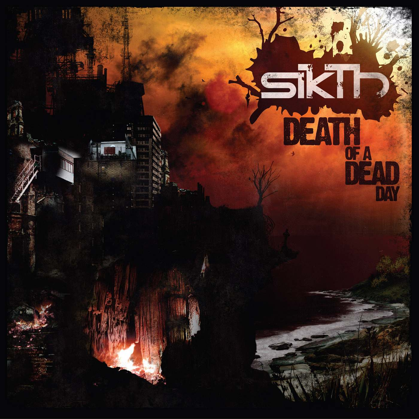 Sikth: Death of a dead day (2016) Book Cover