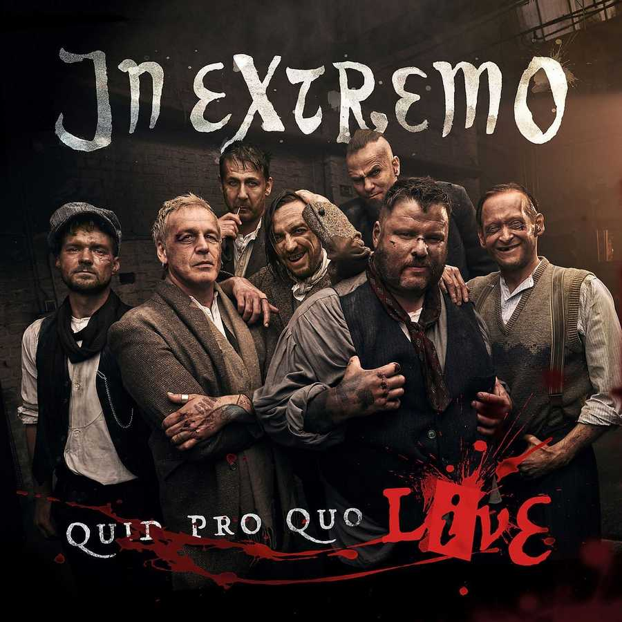 In Extremo: Quid pro Quo Live (2016) Book Cover