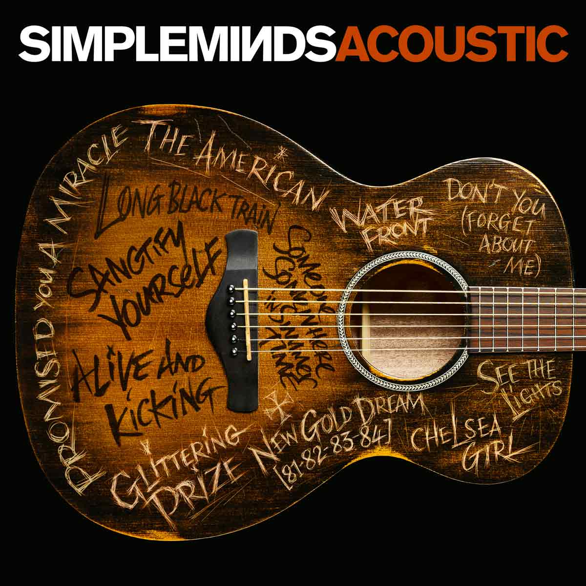 Simple Minds: Acoustic (2016) Book Cover