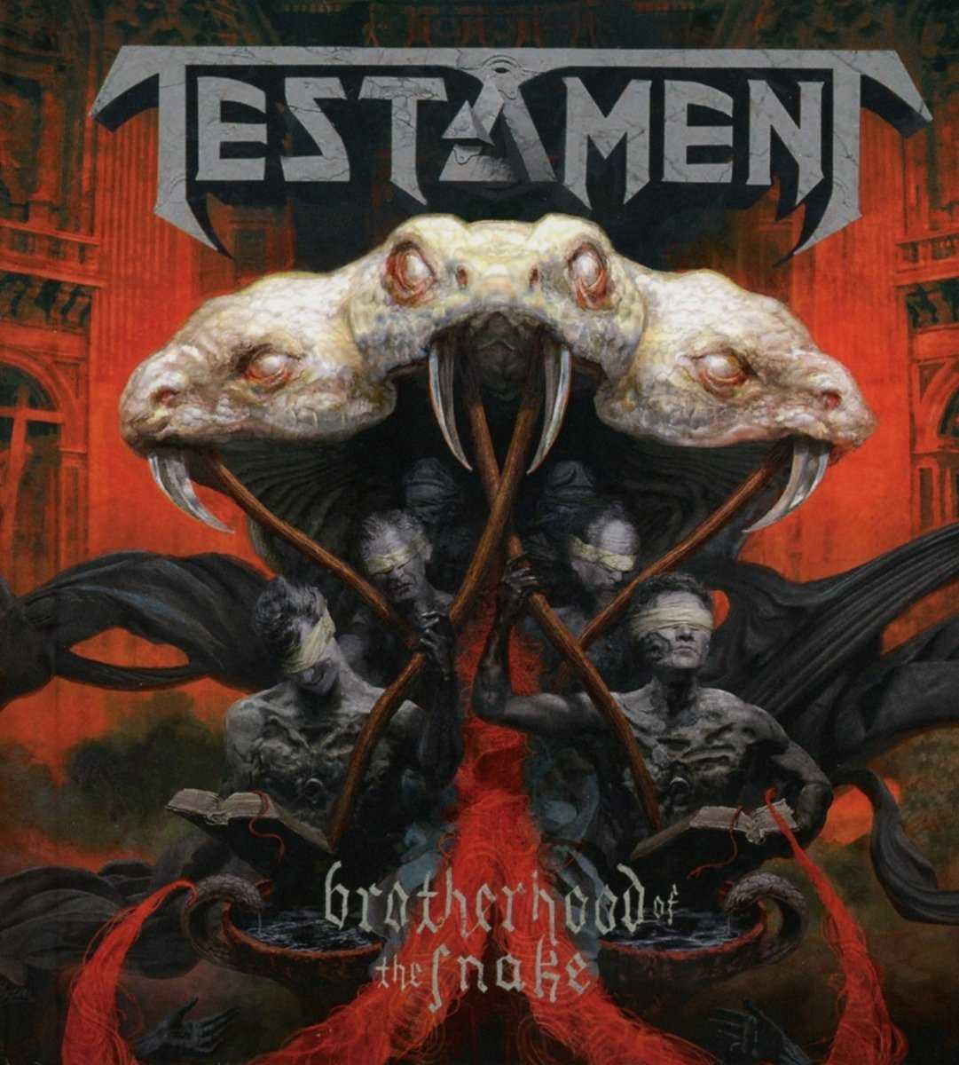 Testament: Brotherhood Of The Snake (2016) Book Cover