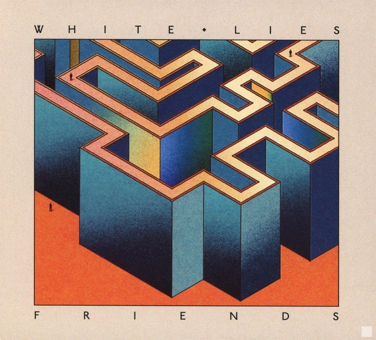 White Lies: Friends (2016) Book Cover