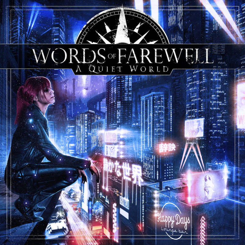 Words Of Farewell: A quiet World (2016) Book Cover