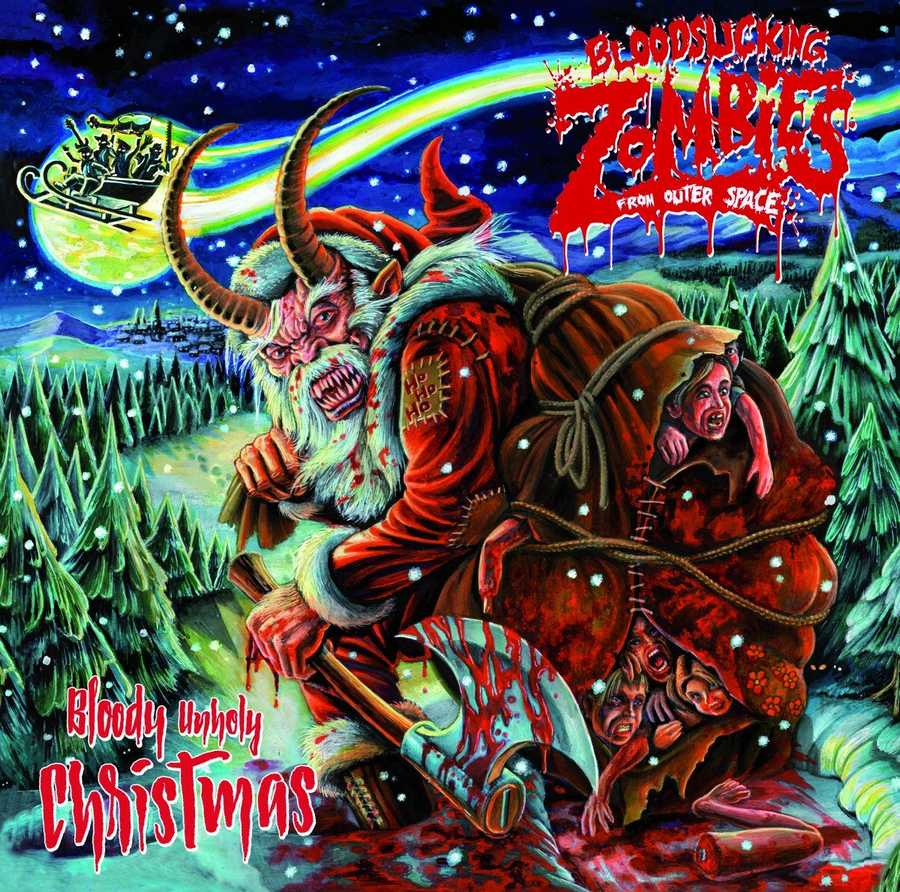 Bloodsucking Zombies From Outer Space: Bloody Unholy Christmas (2016) Book Cover