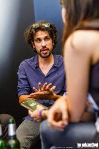 Lacrimas Profundere im bs! Interview (Foto: Torsten Volkmer bs!)