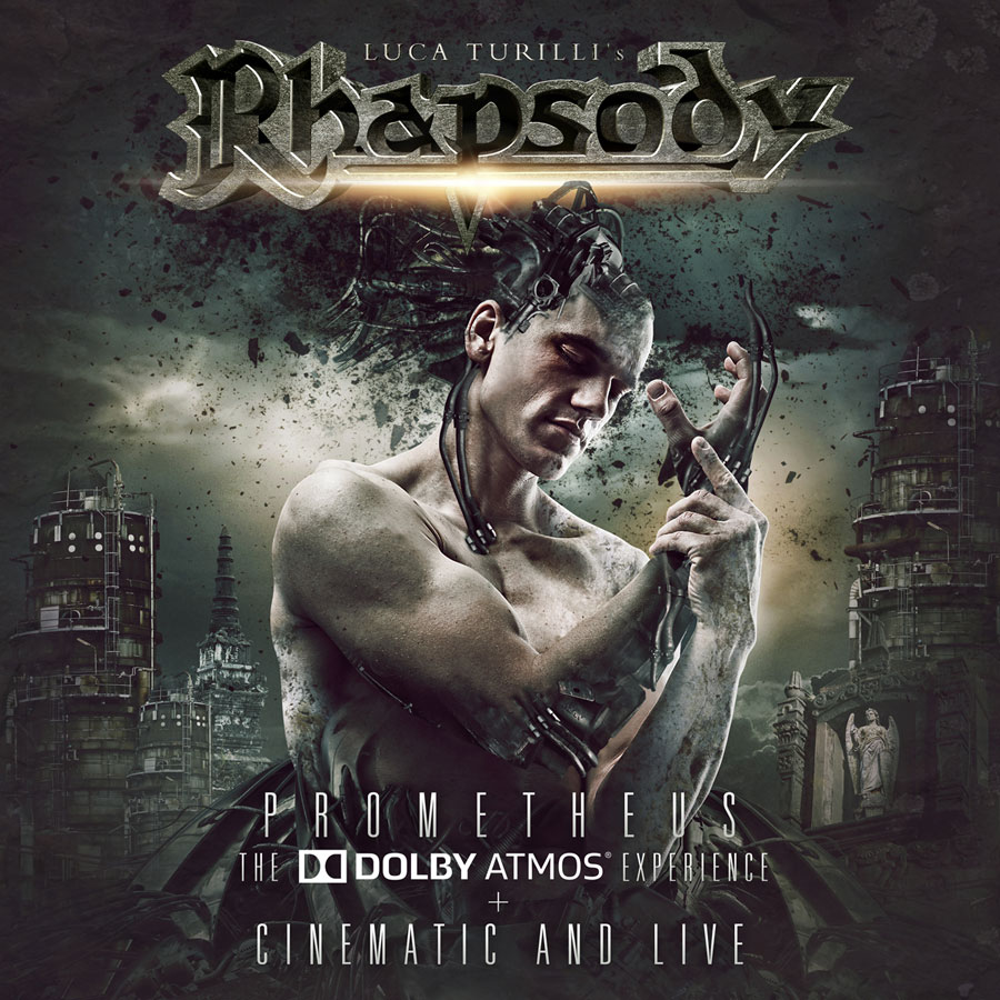Luca Turilli's Rhapsody: Cinematic And Live (2016) Book Cover