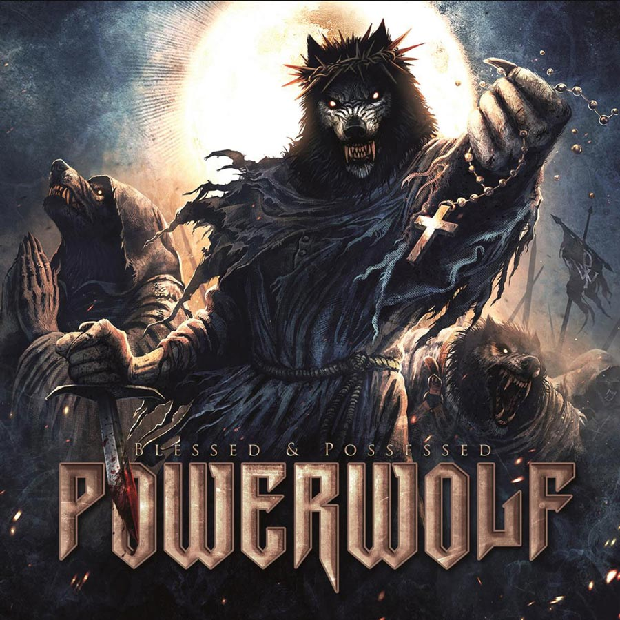 Powerwolf: Blessed & Possessed Tour Edition (2017) Book Cover