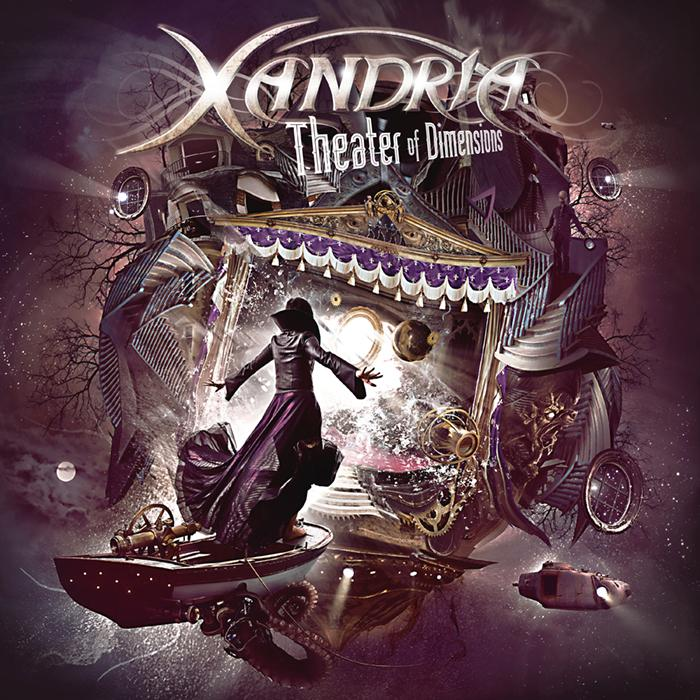 Xandria: Theater of Dimensions (2017) Book Cover