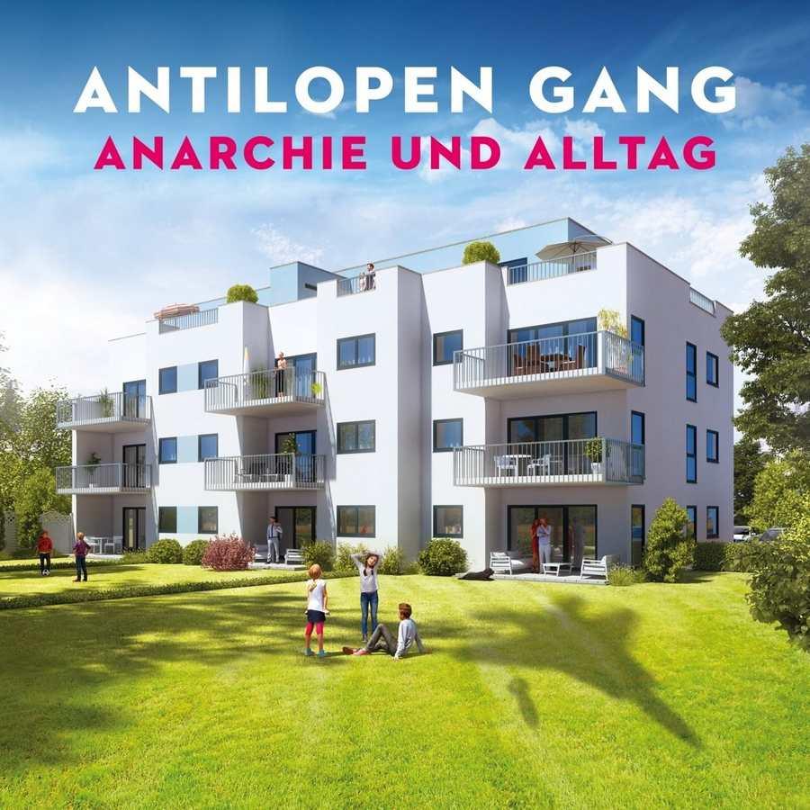 Antilopen Gang: Anarchie und Alltag (2017) Book Cover