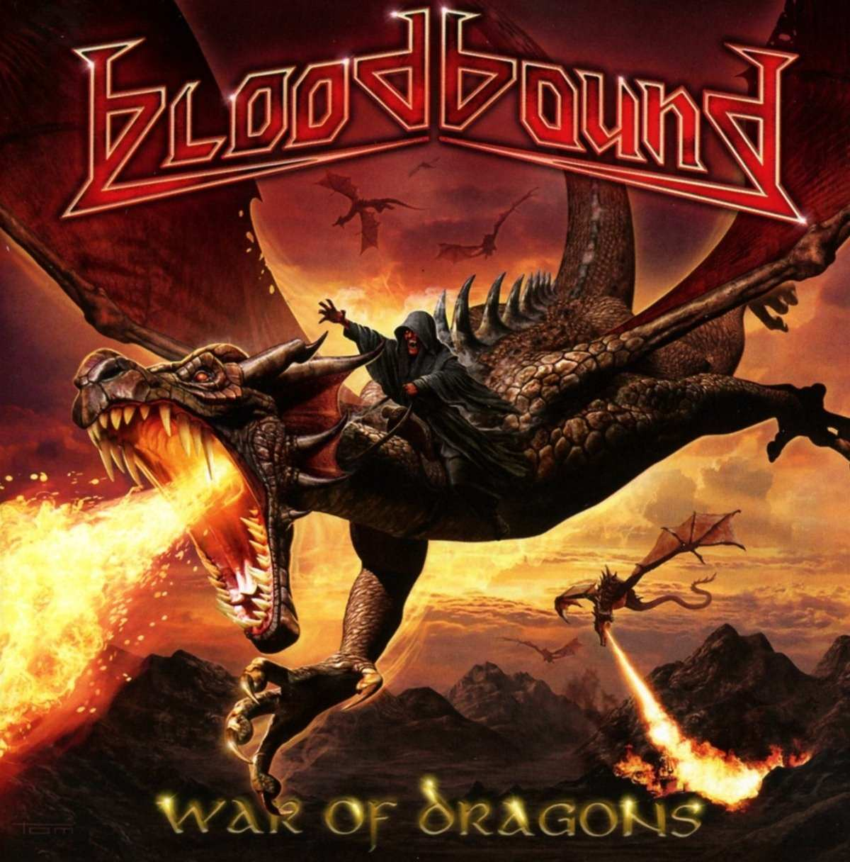 Bloodbound: War of Dragons (2017) Book Cover
