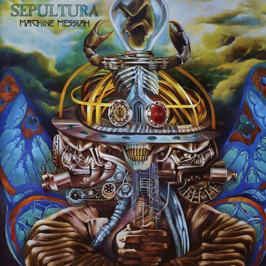 Sepultura: Machine Messiah (2017) Book Cover