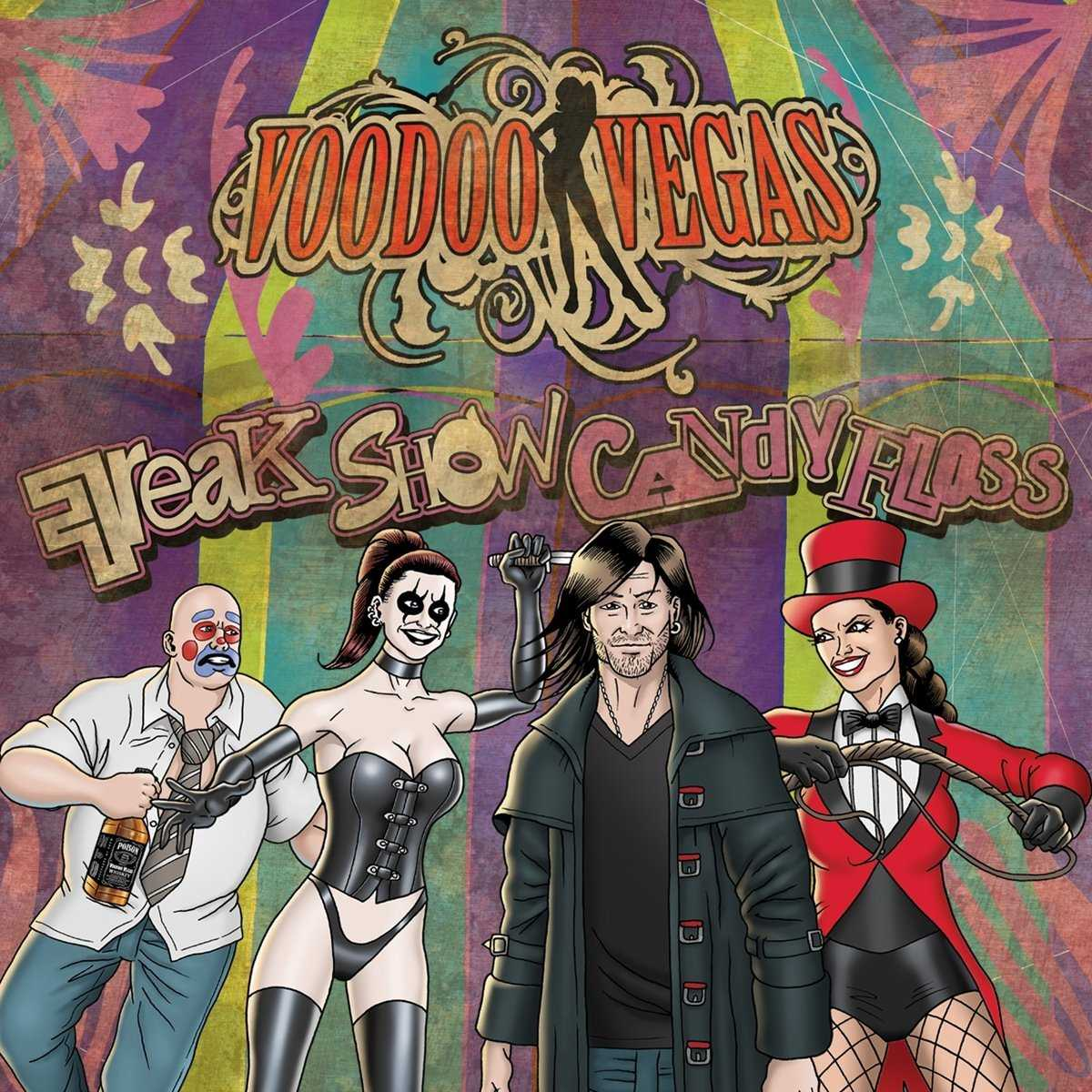 Voodoo Vegas: Freak Show Candy Floss (2016) Book Cover