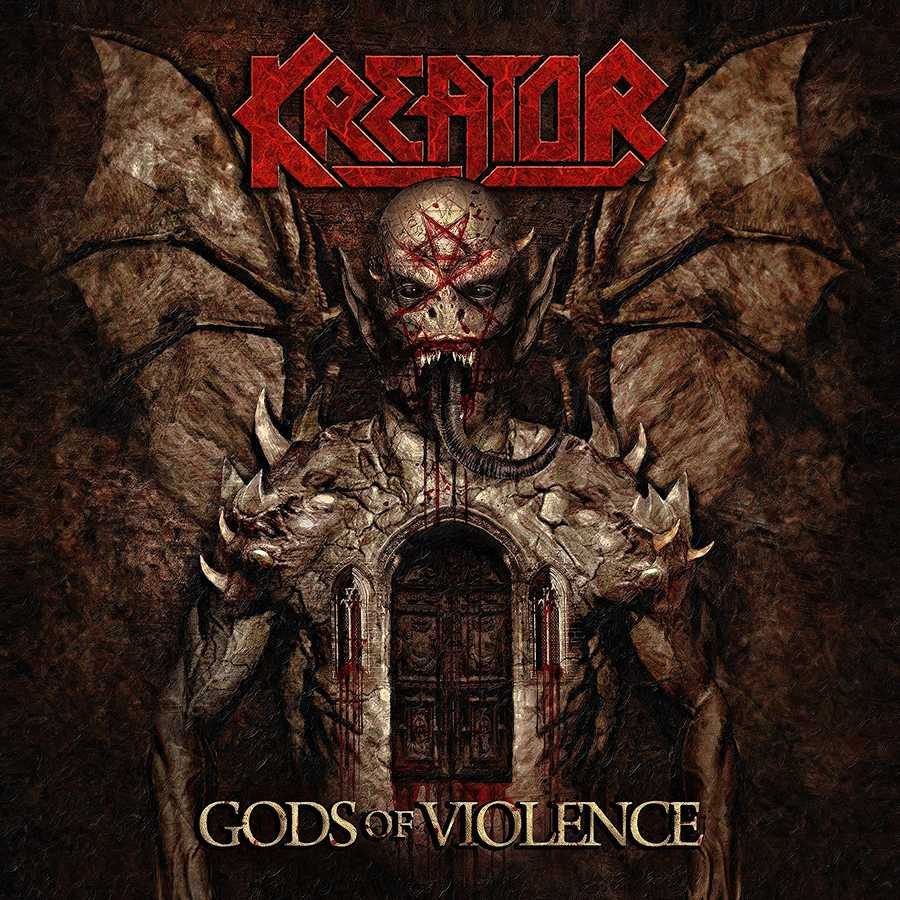 Kreator: Gods Of Violence Book Cover