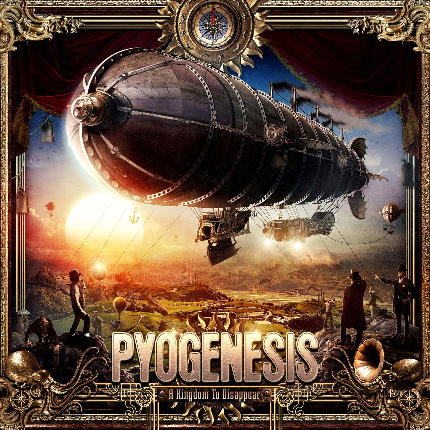 Pyogenesis: A Kingdom To Disappear (2017) Book Cover