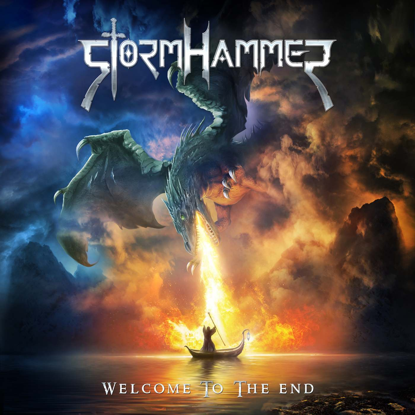 Stormhammer: Welcome to the End (2017) Book Cover