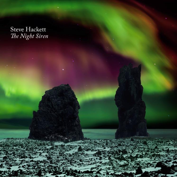 Steve Hackett: The Night Siren (2017) Book Cover