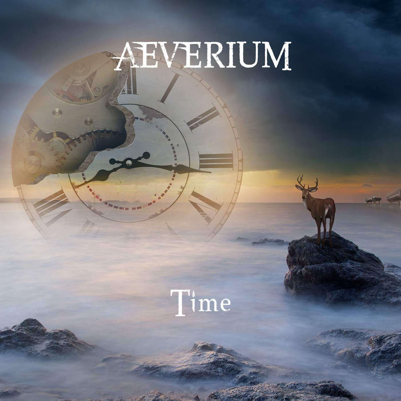 Aeverium: Time (2017) Book Cover