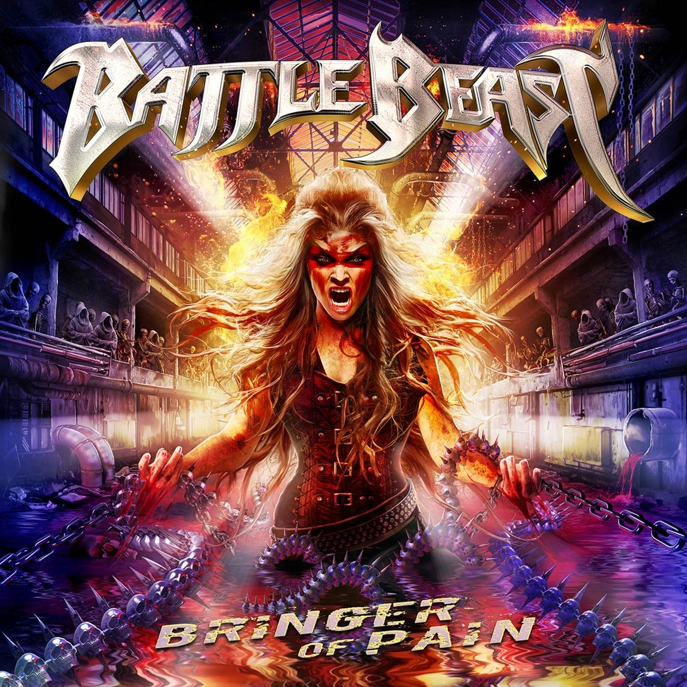 Battle Beast: Bringer Of Pain (2017) Book Cover