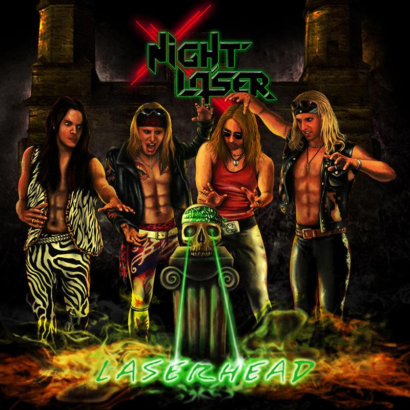 Night Laser: Laserhead (2017) Book Cover