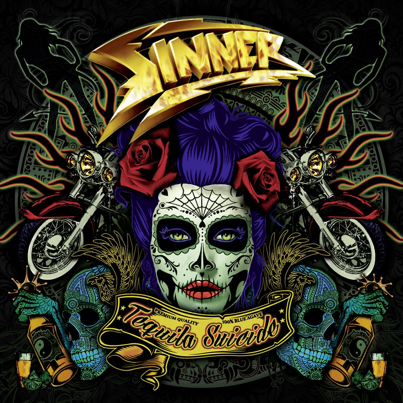 Sinner: Tequila Suicide (2017) Book Cover