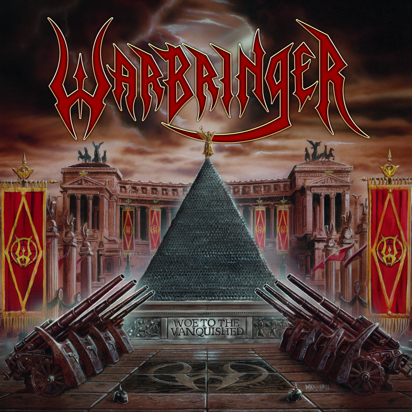 Warbringer: Voe to the Vanquished (2017) Book Cover