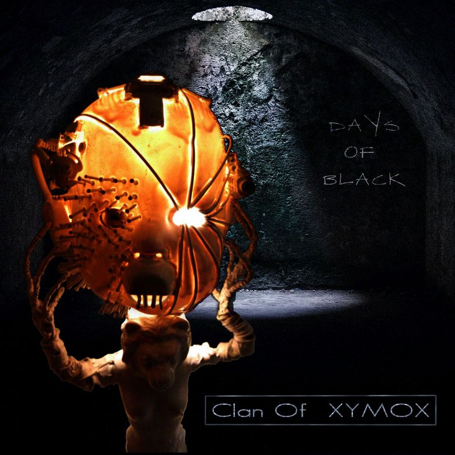 Clan Of Xymox: Days Of Black (2017) Book Cover