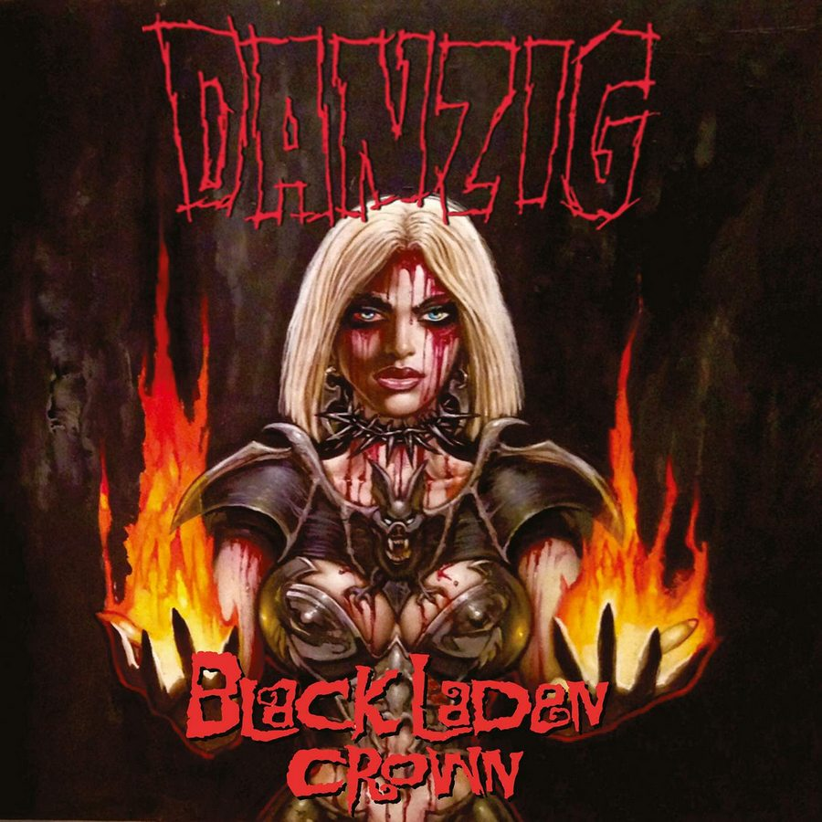 Danzig: Black Laden Crown (2017) Book Cover