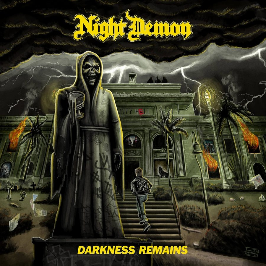 Night Demon: Darkness Remains (2017) Book Cover