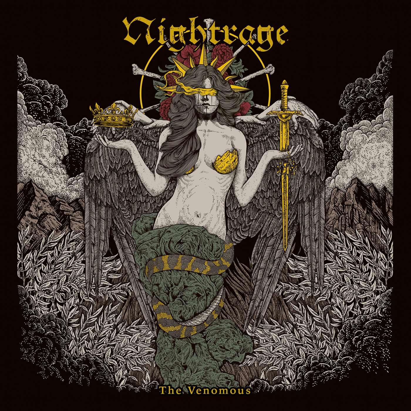 Nightrage: The Venomous (2017) Book Cover