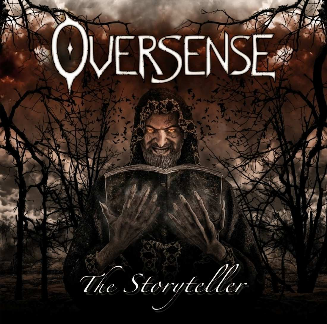 Oversense: The Storyteller (2017) Book Cover