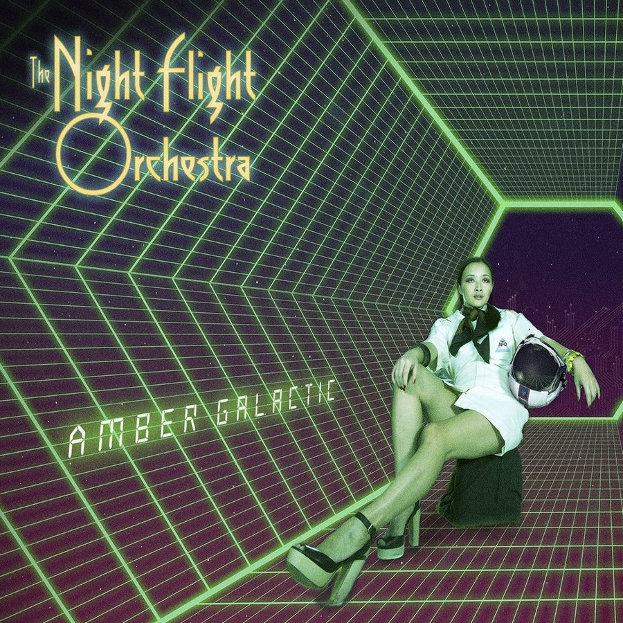 The Night Flight Orchestra: Amber Galactic (2017) Book Cover