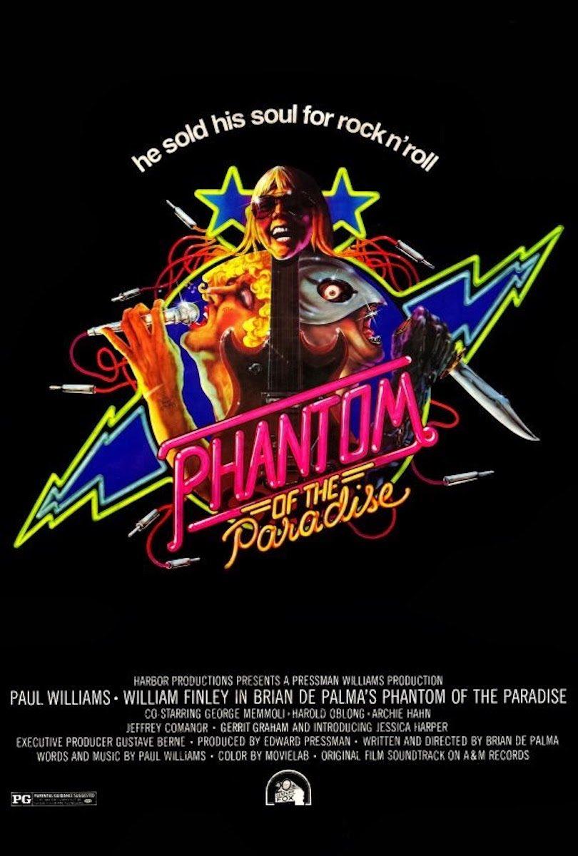 Brian De Palma: Phantom Of The Paradise (1974) Book Cover