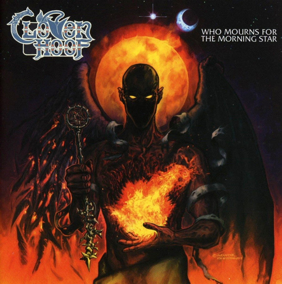 Cloven Hoof: Who Mourns For The Morning Star (2017) Book Cover