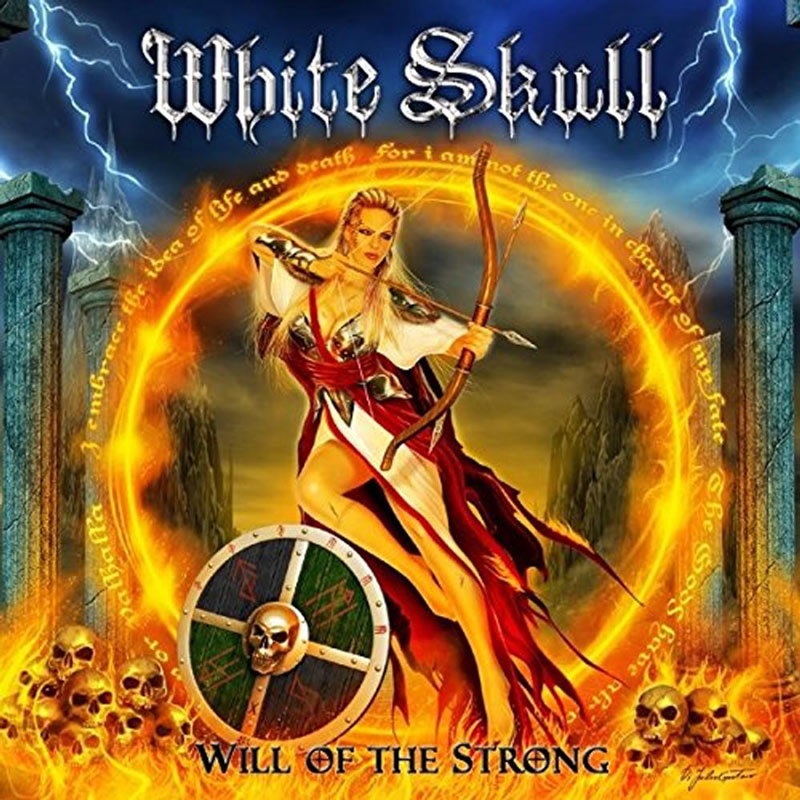 White Skull: Will of the strong (2017) Book Cover