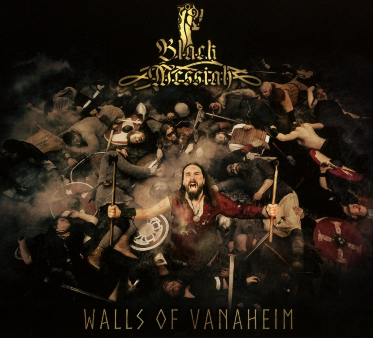 Black Messiah :Walls of Vanaheim (2017) Book Cover
