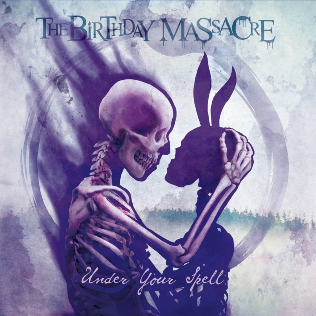 The Birthday Massacre: Under Your Spell (2017) Book Cover