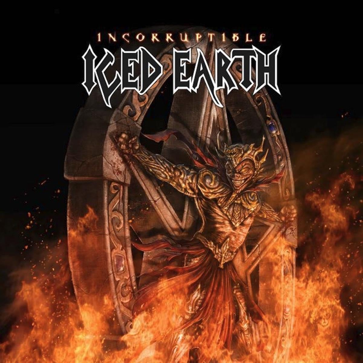 Iced Earth: Incorruptible (2017) Book Cover