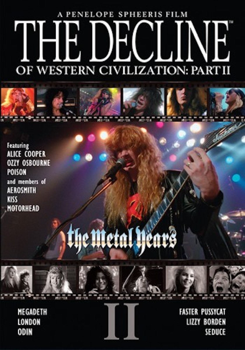 Penelope Spheeris: The Decline of Western Civilization Part II - The Metal Years (1988) Book Cover