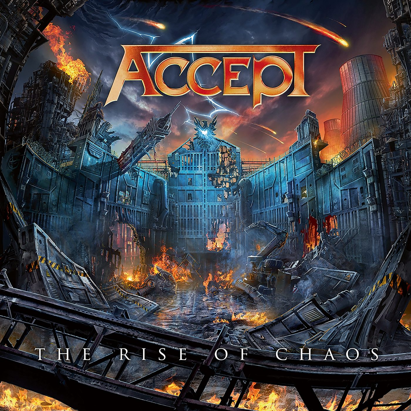 Accept: The Rise of chaos (2017) Book Cover