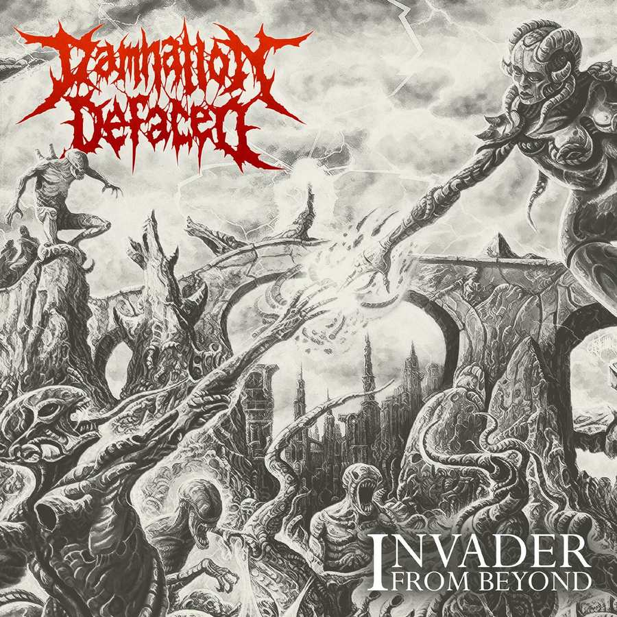 Damnation Defaced: Invader From Beyond (2017) Book Cover
