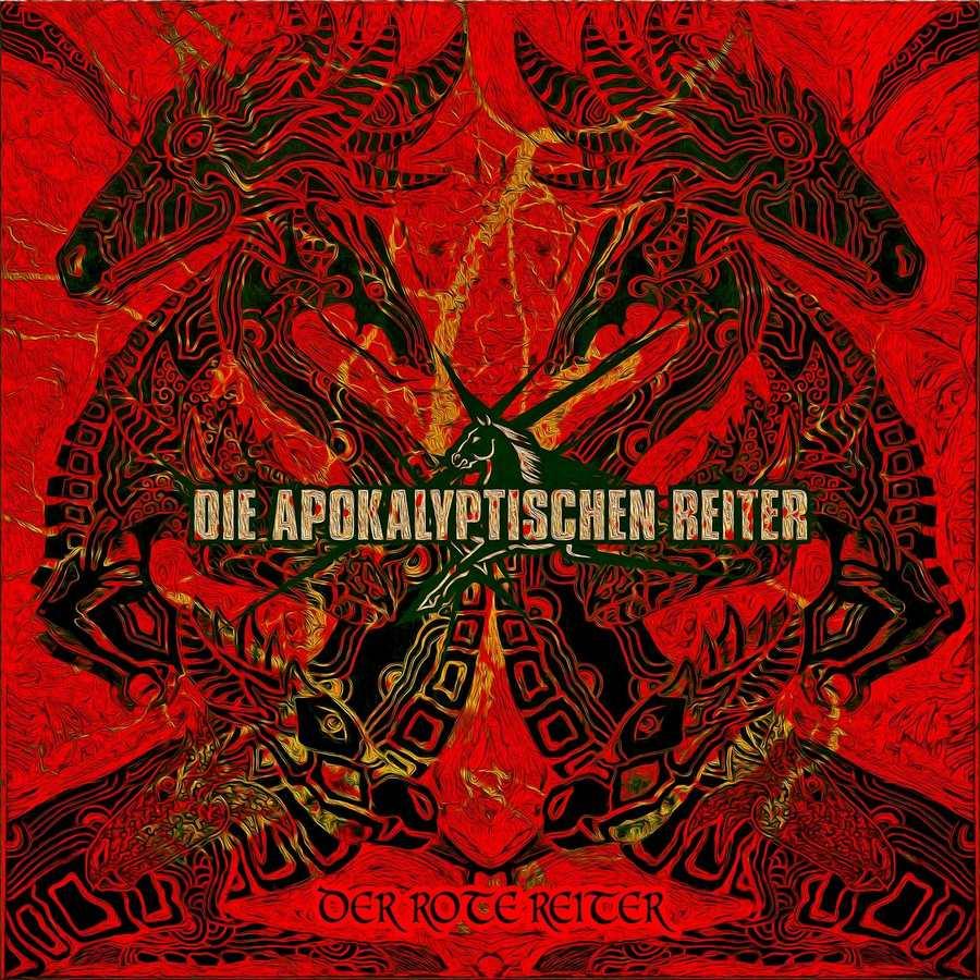 Die Apokalyptischen Reiter: Der rote Reiter (2017) Book Cover