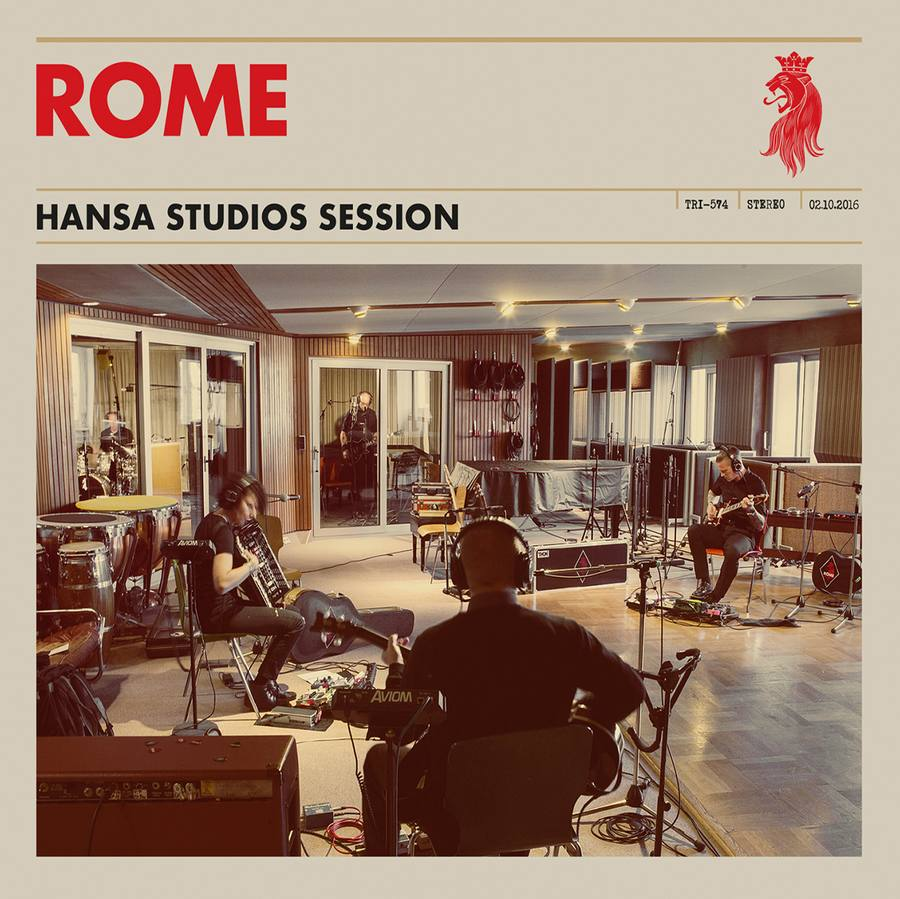 Rome: Hansa Studios Session (2017) Book Cover