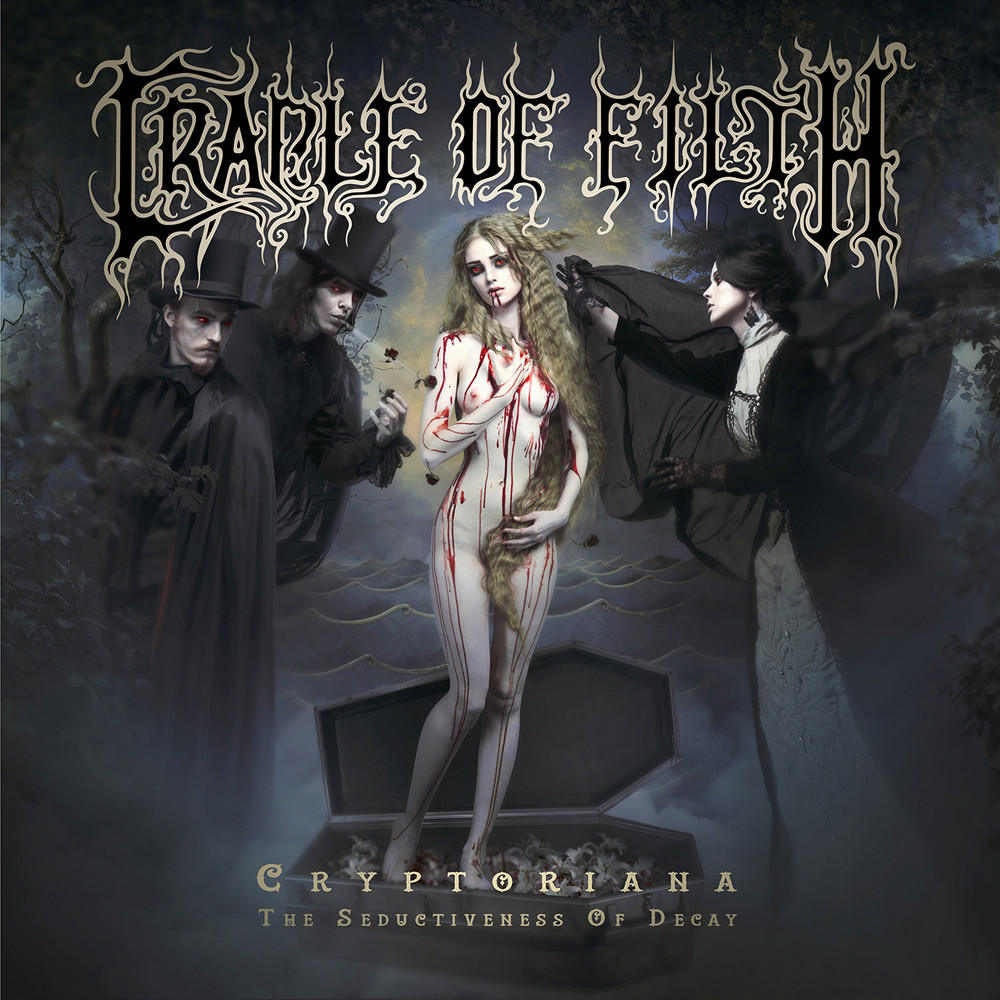 Cradle Of Filth: Cryptoriana - The Seductiveness of Decay (2017) Book Cover