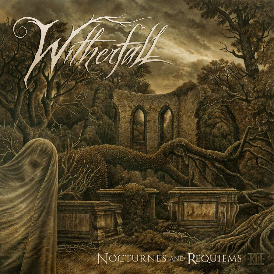 Witherfall: Nocturnes And Requiems (2017) Book Cover
