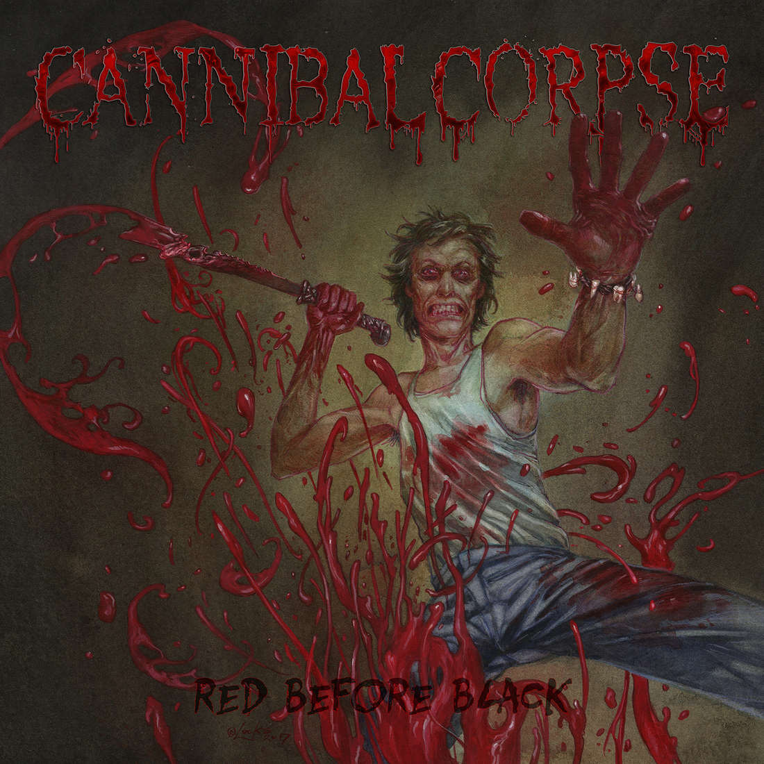 Cannibal Corpse: Red Before Black (2017) Book Cover