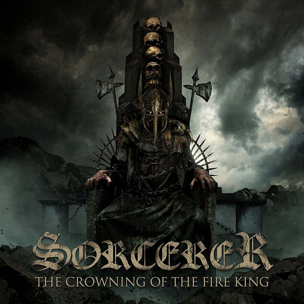 Sorcerer: The Crowning Of The Fire King (2017) Book Cover