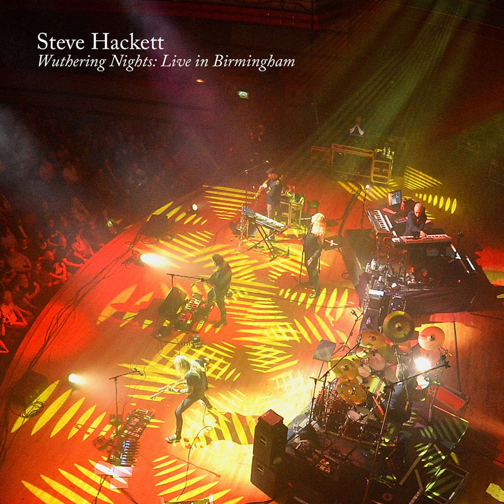 Steve Hackett: Wuthering Nights - Live in Birmingham (2018) Book Cover