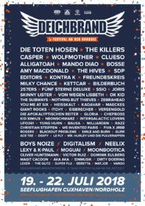 Deichbrand Festival 2018 (Grafik: Deichbrand Festival)